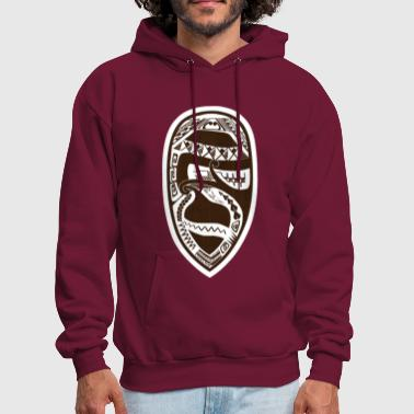 Maori Tribal Subtle Dad Design - Men's Hoodie