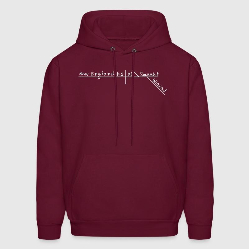 Wicked Smart Smaht Boston Accent  - Men's Hoodie