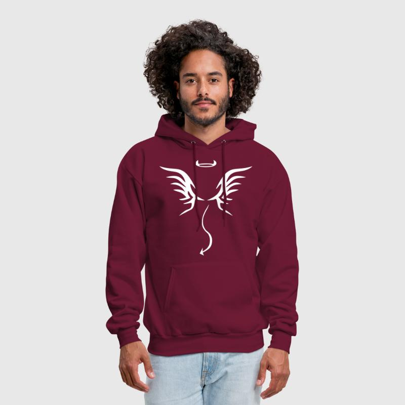angel devil - Men's Hoodie