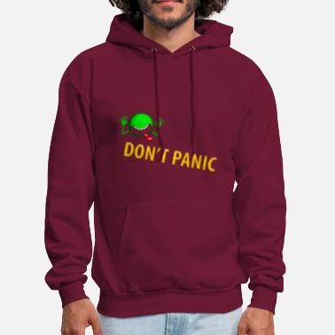 hitchhikers guide to the galaxy movie Don't panic - Men's Hoodie