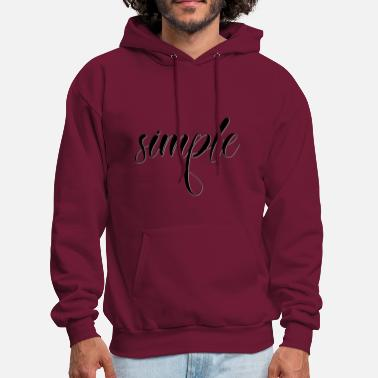 Simple simple - Men's Hoodie