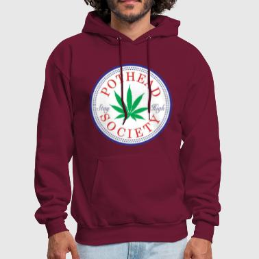 Rick And Morty Pothead Society - Men's Hoodie