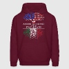 American Grown With Italian Roots - Men's Hoodie