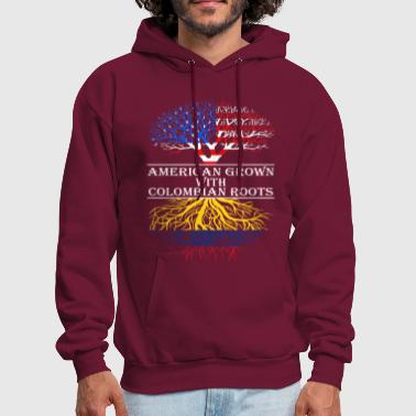 American Grown With Colombian Roots - Men's Hoodie