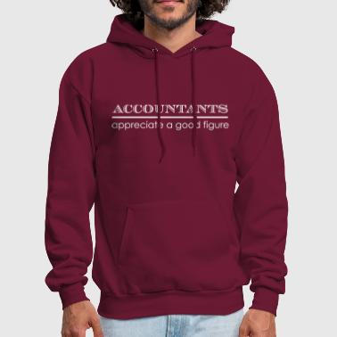 Accountants Appreciate a Good Figure - Men's Hoodie