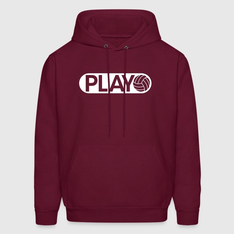 Play Volleyball - Men's Hoodie