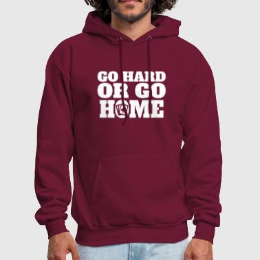 Go Hard Or Go Home Poker - Men's Hoodie