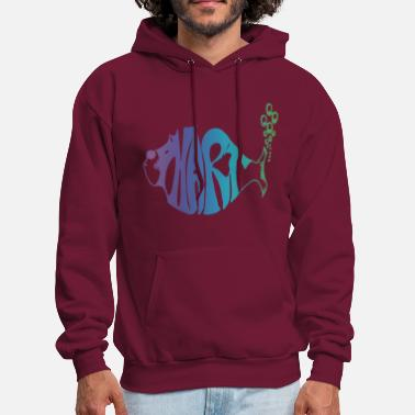 Phish Phart - purple haze - Men's Hoodie