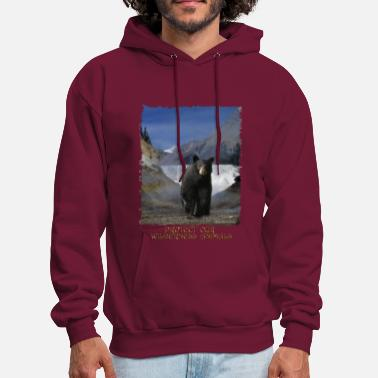 Wildlife BLACK BEAR FALLS Shirt - Men's Hoodie