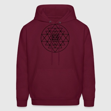 sacred triangles - Men's Hoodie