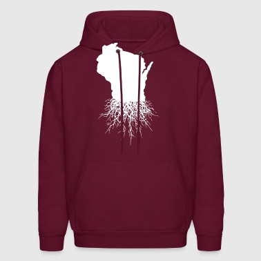 Wisconsin Roots Classic Style Home Roots Organic - Men's Hoodie
