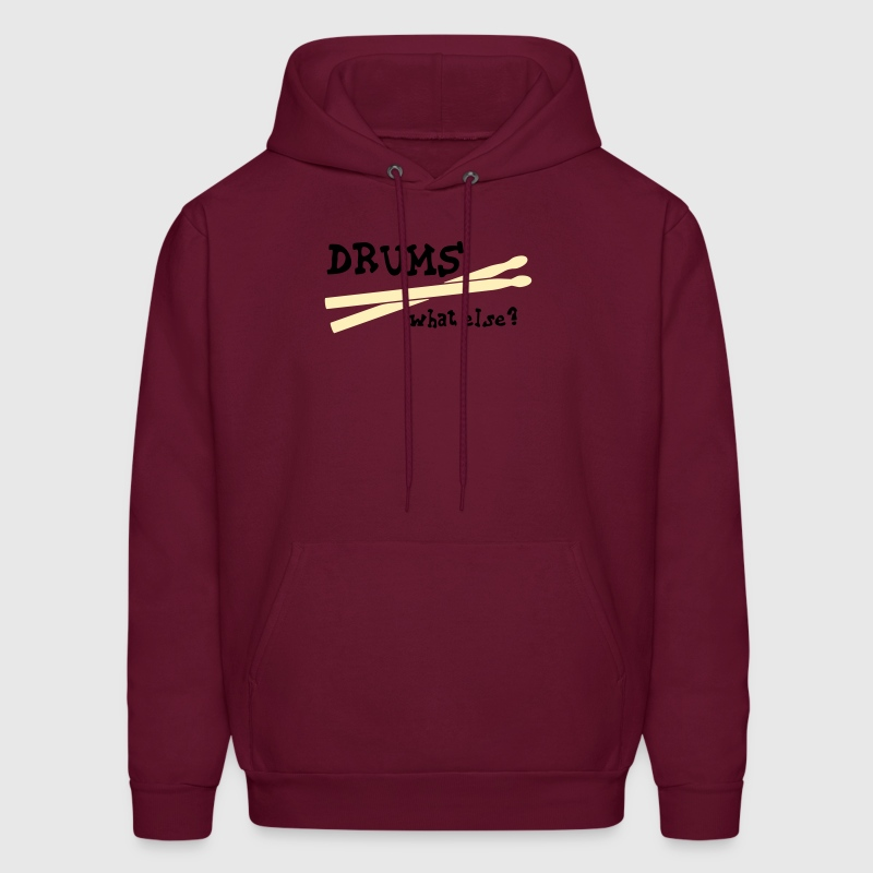 Drums, what else? - Men's Hoodie