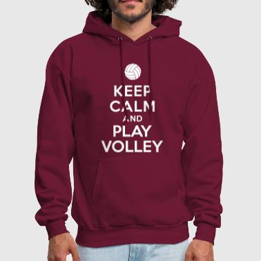 Keep calm and play Volley - Men's Hoodie
