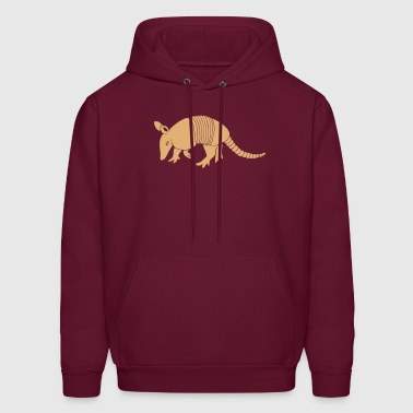 armadillo texas turkey hillbilly - Men's Hoodie