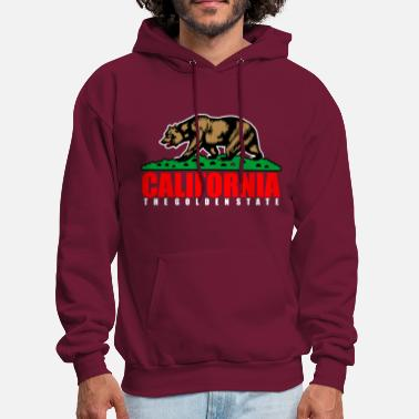State California The Golden State Republic - Men's Hoodie