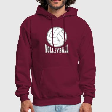 Volleyball bicolor - Men's Hoodie