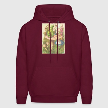 The Hookah Smoking Caterpillar - Men's Hoodie