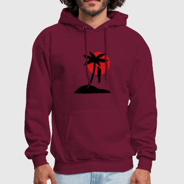 Dead Man Hangman Palm Beach.  - Men's Hoodie