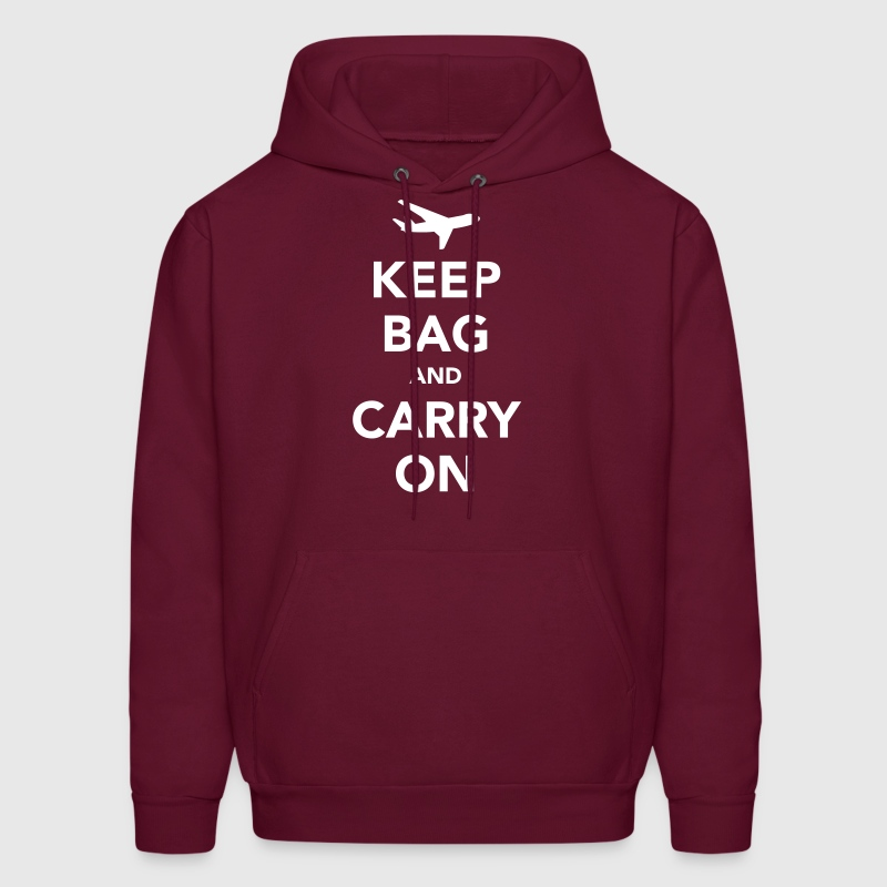 Keep Bag and Carry On - Men's Hoodie