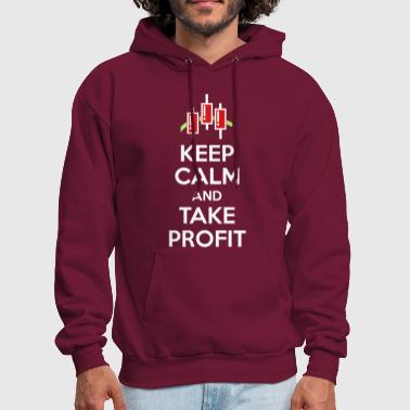 Keep calm and take profit - Men's Hoodie