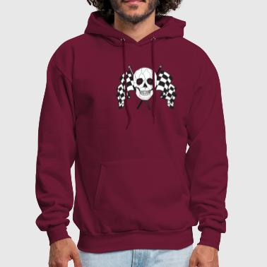 Checkered Flag Racing Flags - Men's Hoodie