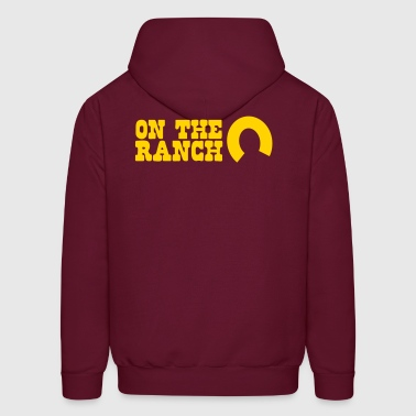 on the ranch - Men's Hoodie
