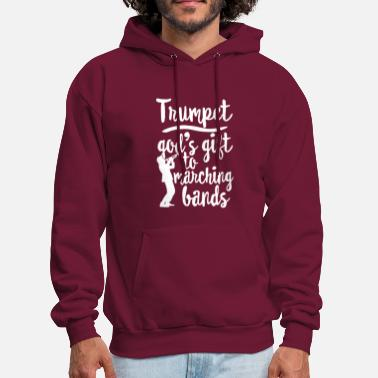 Band Trumpet Marching Band Shirt Marching Band Trumpet - Men's Hoodie