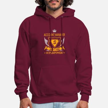 SUPER POWER - ACCOUNT MANAGER - Men's Hoodie