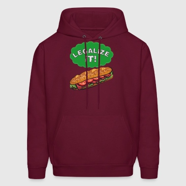 Legalize It! - Men's Hoodie