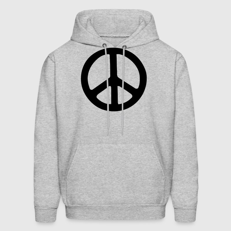 PEACE SIGN - Men's Hoodie