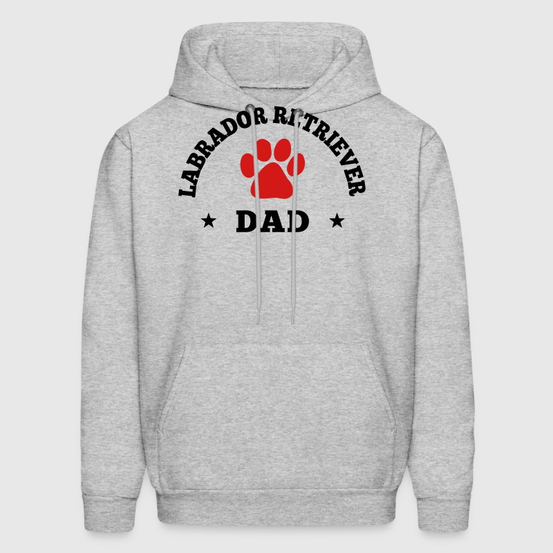 Labrador Retriever Dad - Men's Hoodie