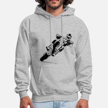 Motocross Supermoto Racing - Men's Hoodie