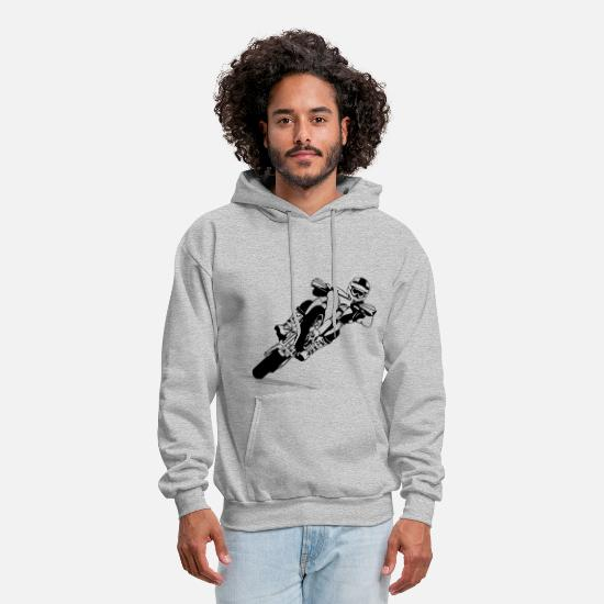 Supermoto Racing Men's Hoodie | Spreadshirt