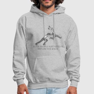 Push Pushing - Men's Hoodie