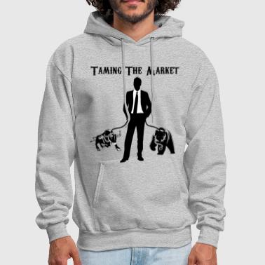 Stock Market TAMING THE MARKET Stock market Shirt - Men's Hoodie