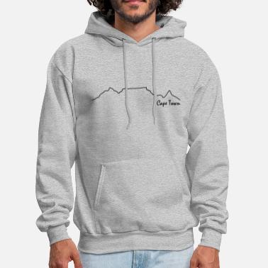 Cape Town TableMountain-Cape Town - Men's Hoodie