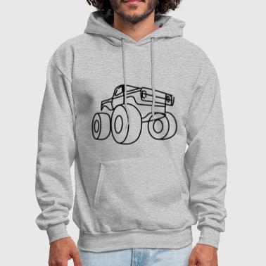 Monster truck - Men's Hoodie