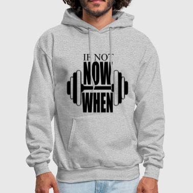 Fitness Gym Motto - Men's Hoodie
