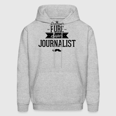 100 percent pure super journalist - Men's Hoodie