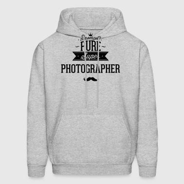 100 percent pure super photographer - Men's Hoodie