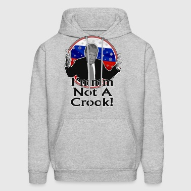 I'm Not a Crook Anti-Trump Design - Men's Hoodie