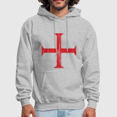 Knights Templar Crusader Cross - Men's Hoodie
