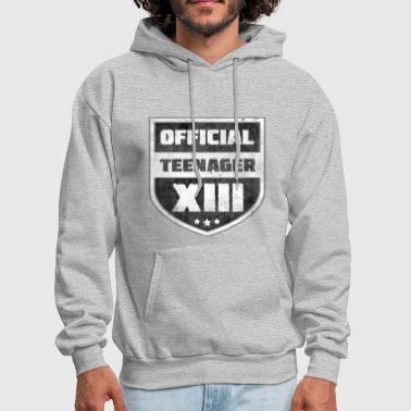 13th Birthday Official Teenager XIII 13th Birthday Teenager Gift - Men's Hoodie