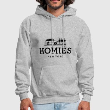 Homies New York Paris Criminal Swag Damage - Men's Hoodie