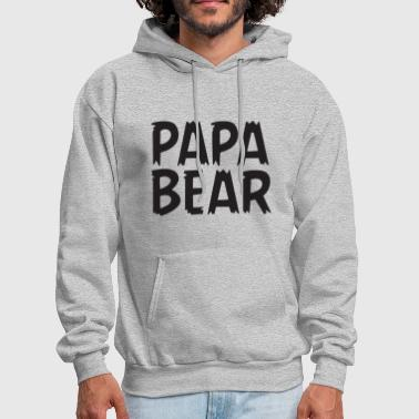 Daddy Mommy And Baby Matching Bear Family And Body - Men's Hoodie