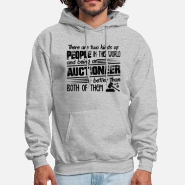 Auctions Being An Auctioneer - Men's Hoodie