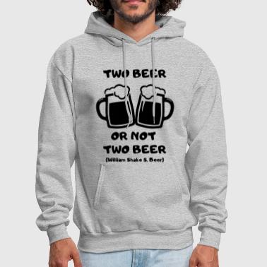 two beer - Men's Hoodie