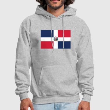 Flag of the Dominican Republic Cool Flag - Men's Hoodie