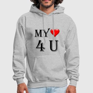 My Heart For You - Gift T-Shirt - Men's Hoodie