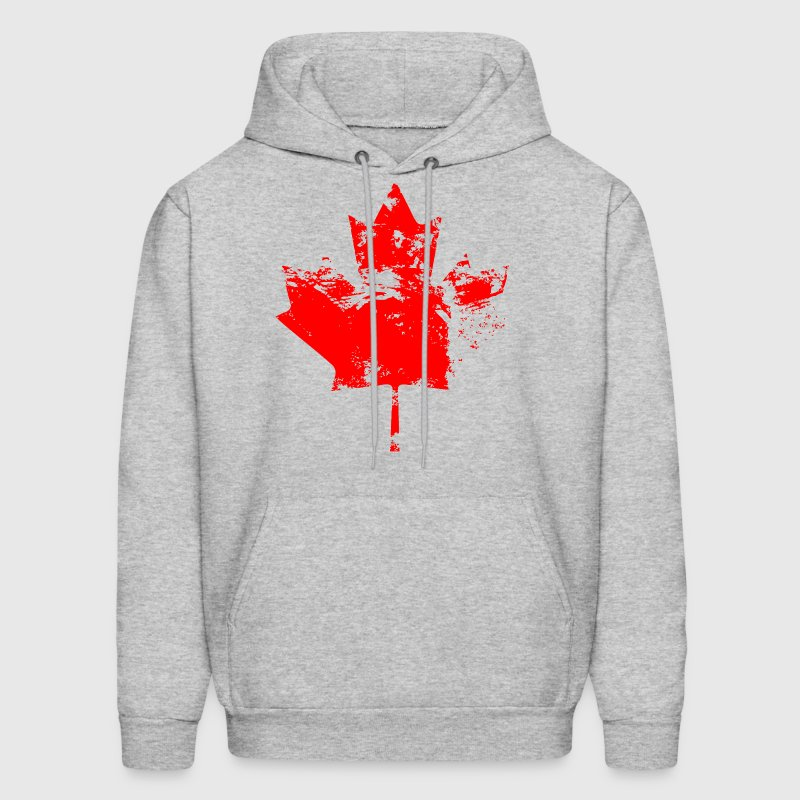 Canadian Maple Leaf - Vintage Look - Men's Hoodie